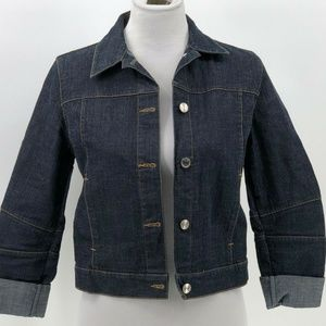 Ralph Lauren Sport denim jean jacket womens size M